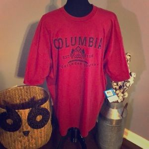 Men's Columbia T-shirt NWT